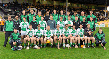 15 November 2009; The Ballyhale Shamrocks squad. M&A Coaches are happy to be associated with the Ballyhale Shamrocks Hurling Team!